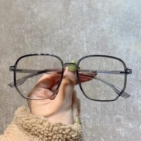 0-600度近视眼镜防蓝光防辐射女