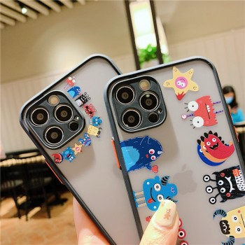 磨砂肤感适用iphone12/11手机壳8x