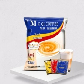 40袋三合一即溶咖啡卡布奇诺蓝山咖啡精选特浓咖啡