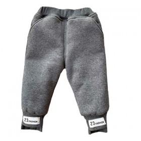 男童加绒裤子2020年冬季加厚一条过冬宝宝棉裤外穿