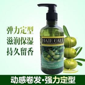 橄榄油啫喱膏持久保湿定型护卷蓬松发胶卷犮防毛糙.男