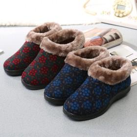 冬季老北京布鞋女鞋高帮防滑保暖棉鞋