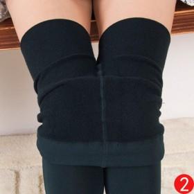 安禄拉毛裤拉绒加绒打底裤女内外穿显瘦修身踩脚连裤袜