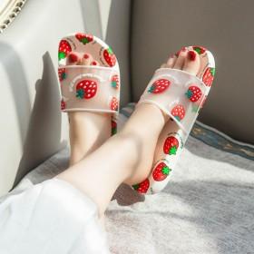 优新品2020网红ins凉拖鞋女士外穿夏季可爱家用