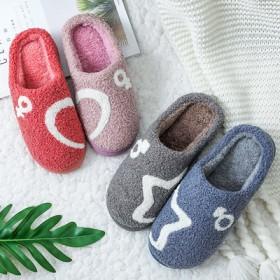 2020新款棉拖鞋女秋冬季家居室内厚底防滑加厚保暖