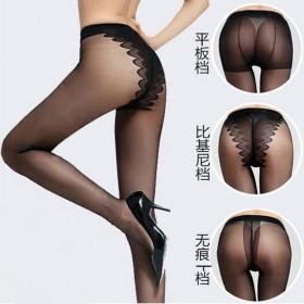 夏超薄丝袜隐形包芯丝连裤袜性感时尚平板加档
