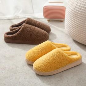 2020新款棉拖鞋女冬季居家用防滑厚底保暖毛毛室内