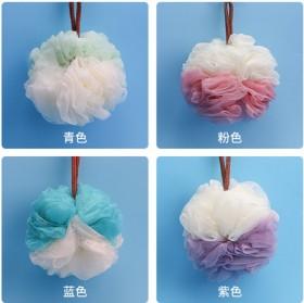 【2个】沐浴球浴花球不散可爱少女泡泡浴泡澡球洗浴用