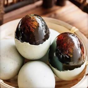10枚】松花蛋皮蛋无铅