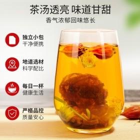金银花胖大海罗汉果润肺茶250g清肺茶