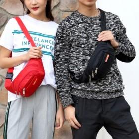 男女腰包帆布包单肩斜挎包户外运动背包小腰包