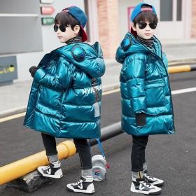 童装男童棉服加厚中长款中大童棉衣儿童棉袄冬装202