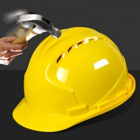国标安全帽ABS玻璃钢加厚工程建筑电工人工地施工头