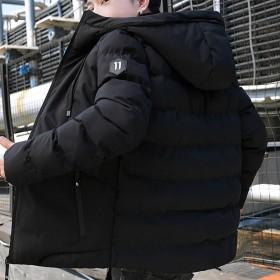 棉衣男士外套冬季新款加厚短款羽绒棉服潮流修身冬装