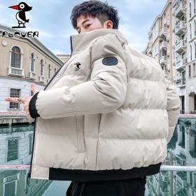 啄木鸟棉衣男冬装棉服工装外套加厚棉袄男装