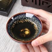 建盏茶杯款式不带礼盒1个主人杯