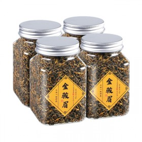 乌龙茶铁观音红茶绿茶金骏眉罐装125克