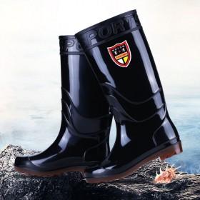 耐磨牛筋底雨鞋男女保暖中低高筒水鞋雨靴防滑劳保鞋