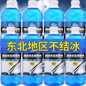 -40度融冰抗冻型玻璃水