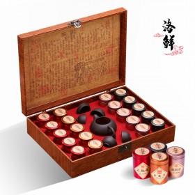 金骏眉茶叶礼盒装红茶正山小种浓香型2020新茶铁观