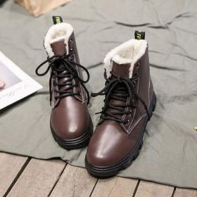 雪地靴女冬季2020新款加绒保暖马丁短筒
