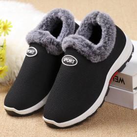 2020冬季老北京布鞋女棉鞋中老年加绒