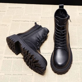 雪地靴 加绒 马丁靴韩版雪地靴
