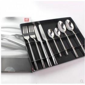双立人西餐具8件套刀叉勺不锈钢西餐刀