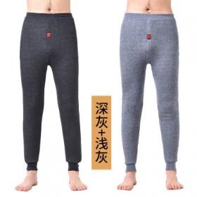 2条 棉裤加肥加大高弹高腰中老青年打底裤