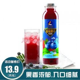 蓝莓果汁300ml×2瓶