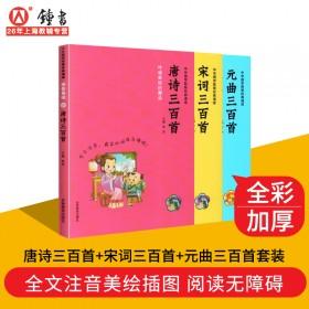 唐诗宋词元曲三百首国学启蒙智慧经典阅读书籍