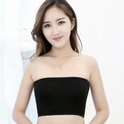 性感裹胸防走光打底内衣优质纯棉抹胸一片式文胸