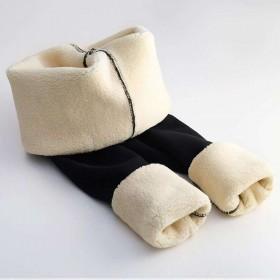 超厚羊羔绒打底裤韩版女裤