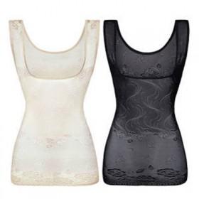 2件四季可穿薄款塑身内衣大码产后收腹塑形束身上衣托