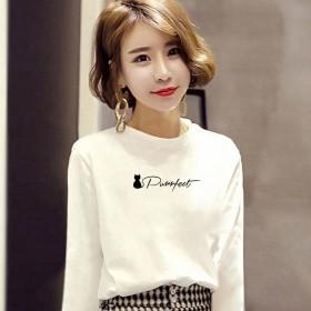 2020女装新款韩版时尚T恤女装女式宽松上衣