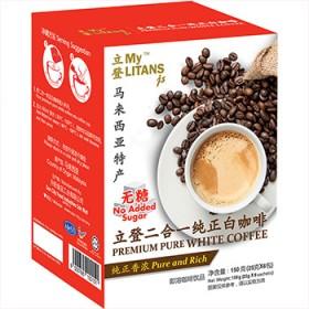 马来西亚 原装进口白咖啡 无糖奶粉配方 150g