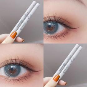 眼线笔持久防水不晕染学生网红硬头细头可爱铅眉笔白色