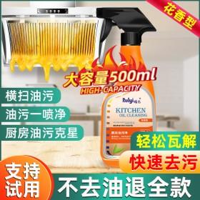 瑞亿强力去油污清洁剂油烟机清洗剂泡沫