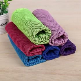 运动毛巾吸汗健身降温冰巾冷感冰毛巾