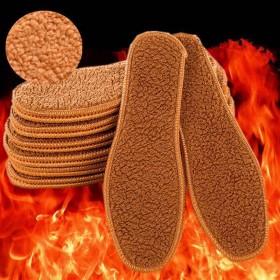 【5双】羊驼绒保暖鞋垫