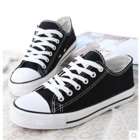 2020春季新款经典帆布鞋女鞋韩版低帮小白鞋