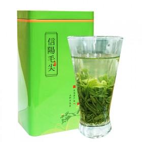 新茶信阳毛尖茶叶绿茶半斤