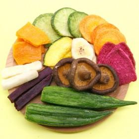 水益农什锦果蔬脆混合蔬菜水果干秋葵菠萝蜜孕妇儿童休