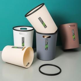 创意家用垃圾桶厨房厕所卫生间纸篓办公室简约客厅拉圾