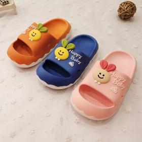 越南温突橡胶童鞋可爱舒适卡通柔软厚底宝宝家居凉拖