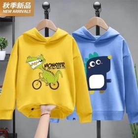 两件装男童卫衣男童外套中大童韩版小男孩体恤T恤