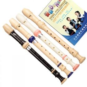 奇美6孔高音德式竖笛学生乐器笛子