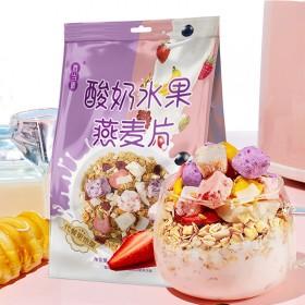 香当道 酸奶水果燕麦片 早餐 健康代餐 400g
