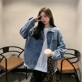 新款韩版女装牛仔上衣