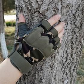 青年战术手套男女半指特种兵迷作战防割防刺户外骑行
